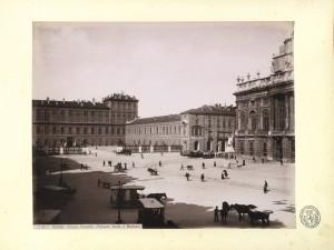 Veduta di piazza Castello. © Archivio Storico della Città di Torino