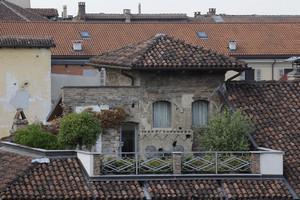 La torre medievale di casa del Pingone. Fotografia di Paolo Gonella, 2010. © MuseoTorino.