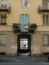 Particolari di un ingresso del 4° quartiere IACP. Fotografia di Maria D'Amuri, 2011.