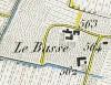 Cascina Le Basse. Antonio Rabbini , Topografia della Città e Territorio di Torino, 1840, © Archivio Storico della Città di Torino