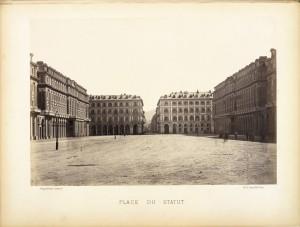 Piazza Statuto. Fotografia di H. Le Lieur, Torino. © Archivio Storico della Città di Torino