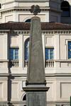 Giuseppe Gabetti, Obelisco ai moti del 1821 (veduta frontale), 1873. Fotografia di Mattia Boero, 2010. © MuseoTorino.