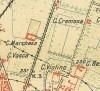 Cascina La Marchesa, già La Florita. Istituto Geografico Militare, Pianta di Torino e dintorni, 1911, © Archivio Storico della Città di Torino