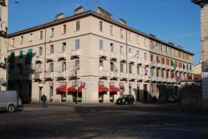 Case Grassi in Via Alessandro Scarlatti su via Candia e via Santhià. Fotografia di Giuseppe Beraudo, 2011
