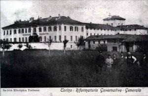 Cartolina di inizio Novecento raffigurante «Torino- Riformatorio Governativo – Generala».
