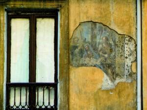 Dipinto in via Borgo Dora