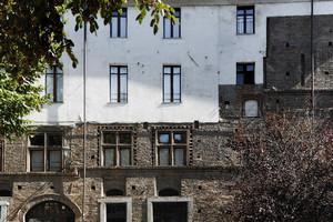 Casa Broglia (già Albergo della Corona Grossa, mura esterne). Fotografia di Paolo Gonella, 2010. © MuseoTorino.