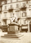 Monumento a Pietro Paleocapa. Fotografia di Mario Gabinio, 15 settembre 1924. © Fondazione Torino Musei - Archivio Fotografico.