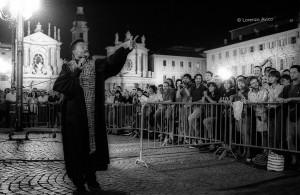 Sere d'Estate 1993, Gospel in piazza San Carlo. Fotografia di Lorenzo Avico, 25 luglio 1993 ©Lorenzo Avico