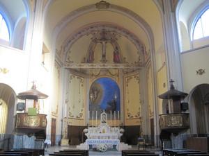 Altare maggiore della chiesa delle Stimmate di San Francesco. Fotografia di Dario Rosso, 2010. ©Museo Torino.