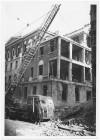 Dipartimento di Prevenzione (ex Ufficio d'Igiene), Via della Consolata 10. Effetti prodotti dai bombardamenti dell'incursione aerea dell'8 dicembre 1942. UPA 2720_9C05-34. © Archivio Storico della Città di Torino