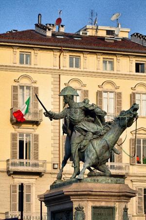 Alfonso Balzico, Monumento a Ferdinando di Savoia duca di Genova (1), 1866-1877. Fotografia di Mattia Boero, 2010. © MuseoTorino.
