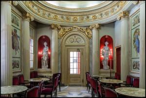 Caffè San Carlo, saletta, 2016 © Archivio Storico della Città di Torino