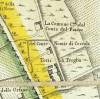 Cascina Cossilla. Amedeo Grossi, Carta Corografica dimostrativa del territorio della Città di Torino, 1791, © Archivio Storico della Città di Torino