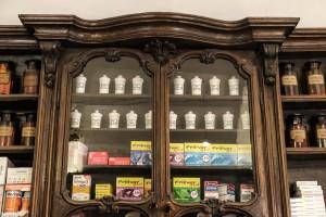 Farmacia Collegiata Ferrero, particolare interno, 2017  ©Archivio Storico della Città di Torino