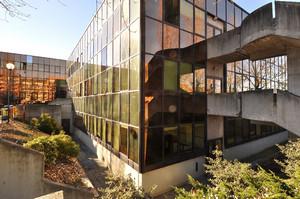 La sede della Circoscrizione 9 (particolare). Fotografia di Mauro Raffini, 2010. © MuseoTorino.