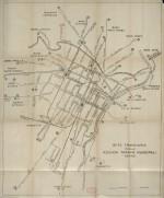 Rete tranviaria della Azienda Tranvie Municipali Torino, 1920 circa