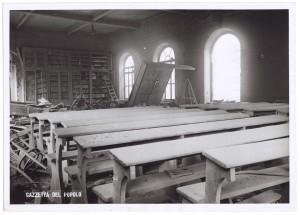 Regia Università, Facoltà di Magistero, Via della Cittadella 3. Effetti prodotti dai bombardamenti dell'incursione aerea del 9 dicembre 1942. UPA 3025N_9D02-52. © Archivio Storico della Città di Torino