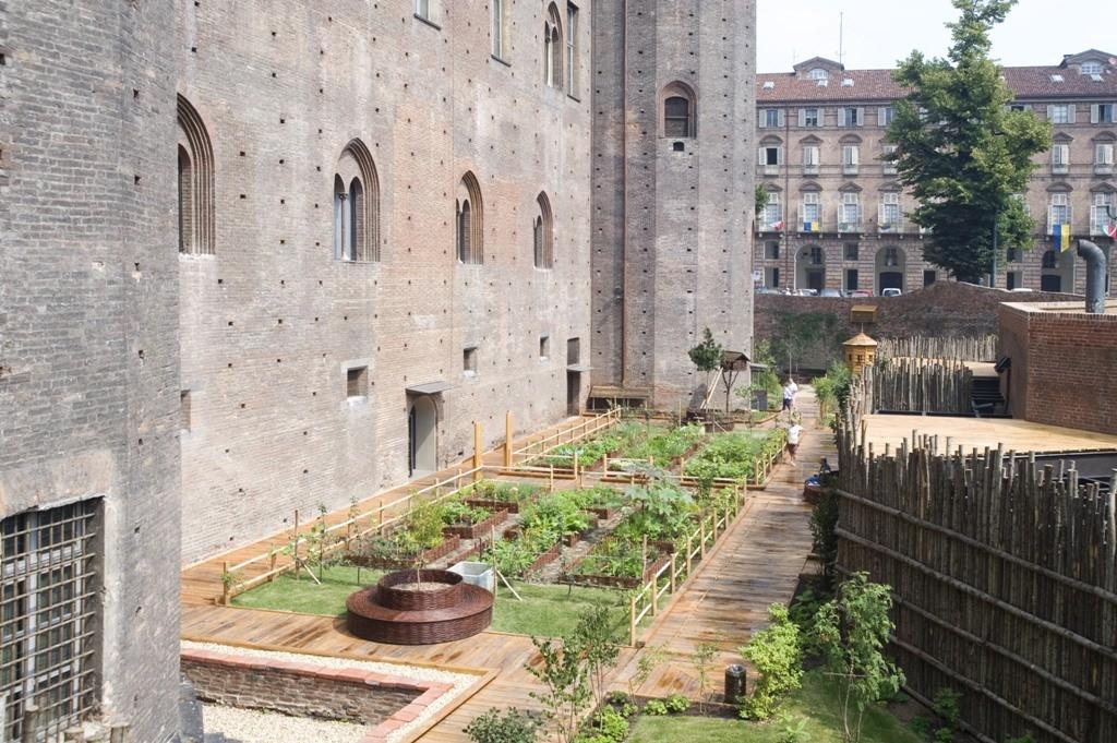 giardino medievale di palazzo madama museotorino