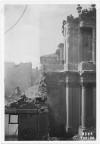 Via Santa Teresa, Chiesa di Santa Teresa. Effetti prodotti dai bombardamenti dell'incursione aerea del 13 luglio 1943. UPA 3614_9D06-59. © Archivio Storico della Città di Torino/Archivio Storico Vigili del Fuoco