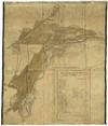 Carta di Tommaso Sevalle (1683) in cui è descritto il tracciato della Strada della Venaria poi nota nell'Ottocento come strada provinciale di Lanzo. © Archivio Storico della Città di Torino