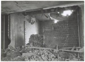 Fiat Mirafiori. Effetti prodotti dai bombardamenti del 4-5 dicembre 1940. UPA 0957D_9A02-22. © Archivio Storico della Città di Torino