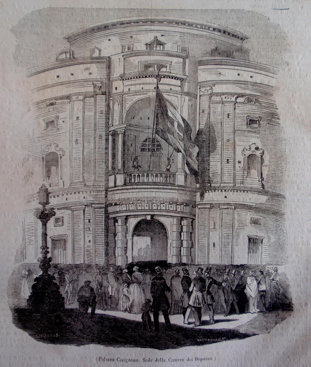 Aula del parlamento subalpino museotorino for Sede camera deputati