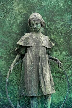 02e Pietro Canonica (1869-1959), Monumento Pratis, la bambina: Laura Vigo ( 1898-1907), datato 1920 (B 398). Fotografia di Roberto Cortese, 2018