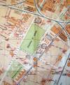 Localizzazione della caserma e della piazza d'armi in una mappa di Torino del 1925 (CeSRAMP).