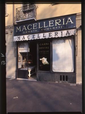 Ex macelleria Curletti, Devanture, 1998 © Regione Piemonte