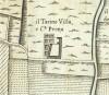 Cascina Il Tarino. Amedeo Grossi, Carta Corografica dimostrativa del territorio della Città di Torino, 1791. © Archivio Storico della Città di Torino