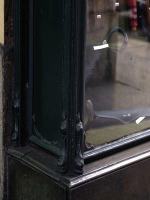 Arbiter, particolare vetrina, 1996 © Regione Piemonte