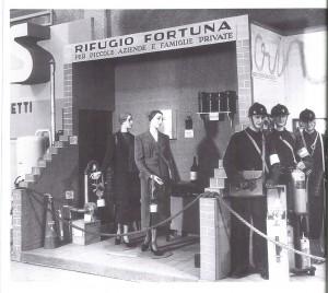 Ottobre-novembre 1937, VI Mostra della meccanica, rifugio