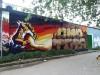Style Orange, opera murale. Fotografia dell' Archivio Museo d'Arte Urbana © Museo d'Arte Urbana