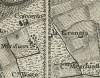Cascina La Grangia, già Lagrange. Carta topografica dimostrativa dei contorni della Città di Torino, 1785. © Archivio Storico della Città di Torino