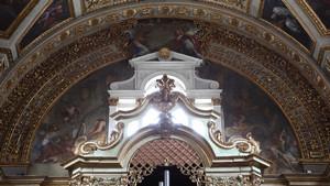 Chiesa dei Santi Martiri, dettaglio dell'interno. Fotografia di Paolo Mussat Sartor e Paolo Pellion di Persano, 2010. © MuseoTorino