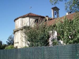 Particolare della cappella di San Luigi Gonzaga afferente alla cascina Berlia. Fotografia di Emanuela Lavezzo, 2008.