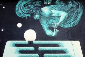 Wasp Crew, murale senza titolo, 2018, cavalcavia di corso Bramante. Fotografia di Roberto Cortese, 2018 © Archivio Storico della Città di Torino
