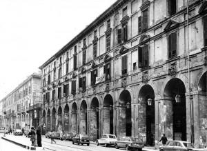 Palazzo degli Stemmi degradato, 1976© Archivio Storico della Città di Torino (GDP sez I 536A_025)