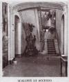 Albergo della Dogana Vecchia, scalone di accesso. Fotografia 1927-1930. © Archivio Storico della Città di Torino
