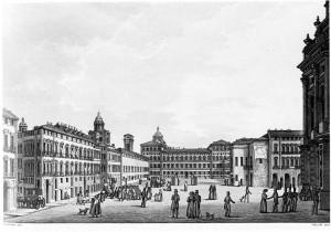 Orologio solare in piazza Reale
