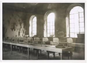 Corso Palestro, Biblioteca civica. Effetti prodotti dai bombardamenti dell'incursione aerea del 9 dicembre 1942. UPA 3035D_9D03-02. © Archivio Storico della Città di Torino