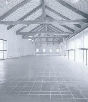 Foto storica degli interni della cascina La Marchesa, già La Florita dopo le ristrutturazione. © EUT 6.