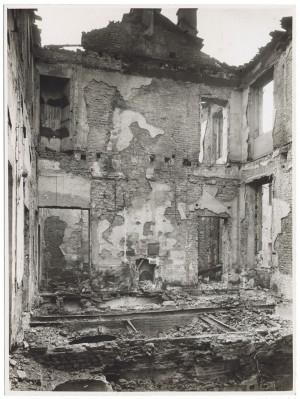 Via Stampatori, Palazzo Balbo Bertone di Sambuy. Effetti prodotti dai bombardamenti dell'incursione aerea del 20-21 novembre 1942. UPA 1794_9B01-24. © Archivio Storico della Città di Torino
