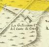 Cascina Galliziana. Amedeo Grossi, Carta Corografica dimostrativa del territorio della Città di Torino, 1791, © Archivio Storico della Città di Torino