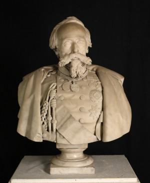Busto di Ettore De Sonnaz. © Museo Nazionale del Risorgimento Italiano di Torino.