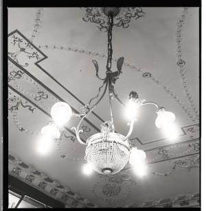 Grosso Ormea di Serafino, fioraio, particolare del soffitto, 1998 © Regione Piemonte
