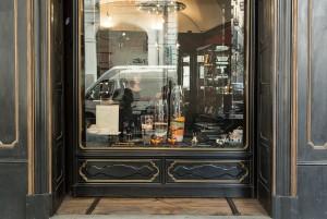 Musy Torino, particolare della vetrina, 2017 © Archivio Storico della Città di Torino