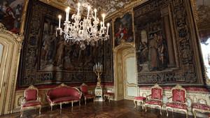 Palazzo Chiablese. Fotografia diPaolo Mussat Sartor e Paolo Pellion di Persano, 2010. © MuseoTorino-Soprintendenza per i Beni Architettonici e Paesaggistici del Piemonte