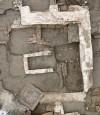 Mura del mausoleo del IV secolo, cantiere Lavazza, 2014 © Soprintendenza Archeologia del Piemonte